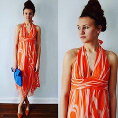 Beautiful Vintage Milli for Bergdoff Goodman Summer Dress!