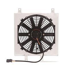 Same Business Day Shipping Mishimoto Radiator Aluminum Slim Fan Shroud Kit 92-00 Civic - 93-97 Del Sol NEW