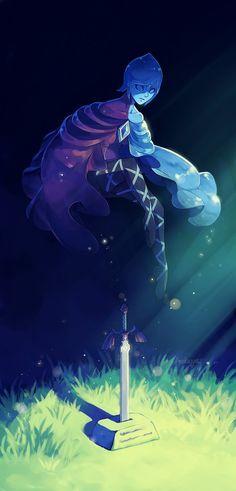 Fi, Sword Spirit by anokazue.deviantart