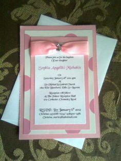 Baptism invitation #3