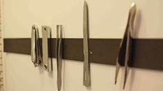stick on magnetic tape  Add a Magnetic Strip to Your Bathroom Medicine Cabinet to Organize Small Metal Grooming Aids