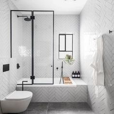 Reported News on Contemporary Bathroom Designs With Freestanding Exposed - f. - Reported News on Contemporary Bathroom Designs With Freestanding Exposed – flipsyourhome - Bathtub Shower Combo, Bathroom Tub Shower, Bathroom Renos, Bathroom Renovations, Small Bathroom, Budget Bathroom, Bathroom Ideas, Shower With Tub, Bathtub Tray