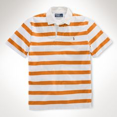 e4bfb0059d18e Polo Ralph Lauren Big and Tall Classic-Fit Short-Sleeved Striped Cotton  Rugby