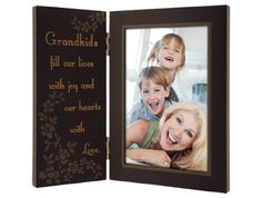 30% Off was $15.17, now is $10.60! Malden Grandkids Fill Our Lives with Joy and Our Hearts with Love Storyboard Frame, 4 by 6-Inch