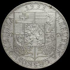 Czechoslovakia 1933 Silver 20 Korun
