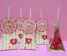 Tootsie Valentine Treats on Etsy, $2.00