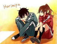Imagem de anime horimiya