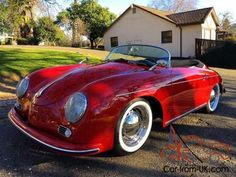 1956 Porsche 356... Re-pin Brought to you by #HouseofInsurance in #EugeneOregon for #LowCostInsurance
