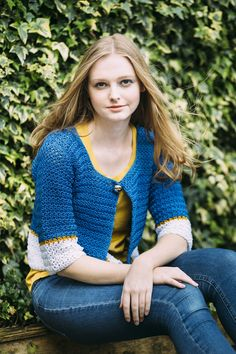 Adelynn Cardigan by Simone Francis | Inside Crochet, issue 64