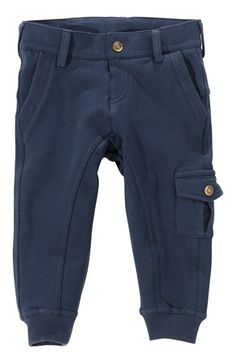 Mega cool Name it Sweatshirtbukser Nilton mini Marine Name it Bukser til Børn & teenager i behageligt materiale