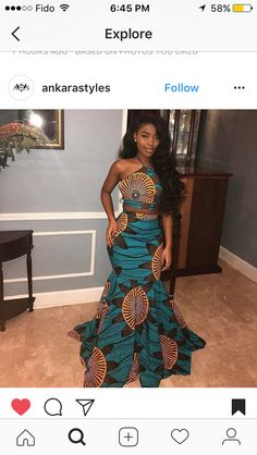✨ african prom dresses, african print dress prom, african dress s African Prom Dresses, Dresses Short, African Fashion Dresses, Fashion Outfits, Fashion Ideas, Ankara Fashion, African Clothes, African Print Dress Prom, Fashion 2017