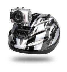 SPORT CAMERA - Gear-Pro High-Definition Sport Action Camera, 720p Wide-Angle Camcorder With 2.0 Touch Screen - SD Card Slot, USB Plug And Mic - All Mounting Gear Included - For Biking, Riding, Racing, Skiing And Water Sports, Etc. from Wci $49.95
