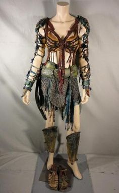 Spartacus Naevia Cynthia Addai Robinson Screen Worn Ensemble EP 310 COA | eBay