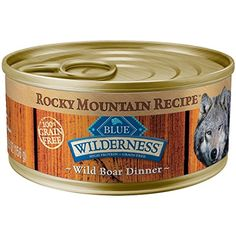 Blue Buffalo Wilderness Rocky Mountain Recipe Adult - Boar - 5.5 oz - 24 ct --- You could get additional details at the image link. (This is an affiliate link and I receive a commission for the sales)