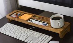 Desk Organizer Wood Desktop Organizer Office