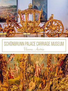 Schönbrunn Palace Carriage Museum - Hey! Morningstar #Vienna