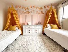 Diy Pillows, Custom Pillows, Playroom Organization, Tall Ceilings, Big Girl Rooms, Floor Cushions, Kid Spaces, Room Inspiration, Canopy