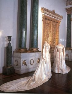 Grand Duchess Olga and Tatiana of Russia Court Dresses