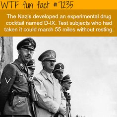 "wtf-fun-factss:  "" NAZI super soldiers - WTF Fun Fact  """