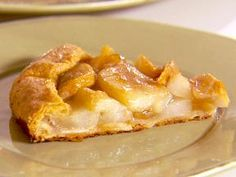 Rustic pear tart- delicious, will try with Apple's.
