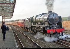 RailPictures.Net Photo: 46115 British Railways Steam 4-6-0 at Yorkshire, United Kingdom by Graham Williams