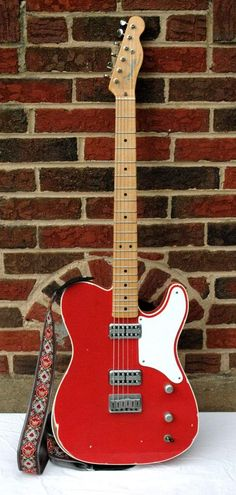 NGD: Double-bound Fiesta Red Cabronita Custom - Telecaster Guitar Forum