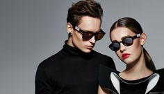 High Fashion + High Tech = Bawsome 3D Printed Sunglasses http://3dprint.com/37276/bawsome-custom-sunglasses/