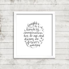 Dreams are forever. -Walt Disney | Hand-lettered | Instant Download