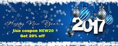 Wishing you all a very happy New Year 2017. 20% offer for gift wrapper #magento extension at http://mage-extensions-themes.com/magento-extensions/giftwrapper.html. Use coupon NEW20 in cart