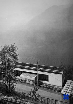 Giorgio Grassi /// House on a lake /// Velo di Marone, Lago d'Iseo, Italy /// 1962 - OfHouses