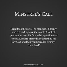 Minstrel's Call