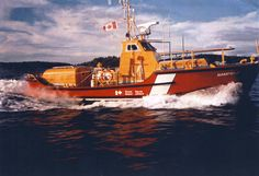 Bamfield Lifeboat Coast Guard 104, 1969-1999.