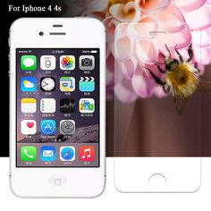 Aliexpress.com   Buy Tempered Glass For iphone44s Iphone 44s 4 4s Hot 0.26  mm 9H Tempered Glass Screen Protector For iPhone 4 4S Screen Protection  from ... b529398261