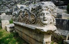 Myra Antik Kenti Garden Sculpture, Lion Sculpture, Antalya, Statue, City, Outdoor Decor, Home Decor, Rome, Decoration Home