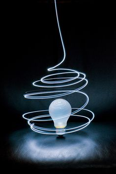 Cool light painting idea!