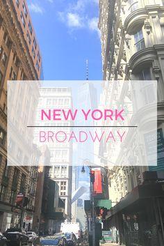 Broadwayn sunnuntaiaamuinen hiljaisuus ja kauneus <3  #NewYork #Broadway #Manhattan #NYC #USA #travelling #matkailu #matkablogi