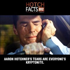 Don't cry Hotch!!!!! So sad. This episode and the episode where Reid gets kidnapped made me cry.