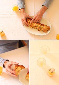 Orange fenel roll