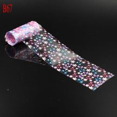 1-Pc Cute Popular Hots Roll Nails Art Sticker Design Glitters Starry Sky Tips Decoration Decals Colors Type B67 *** You can find out more details at the link of the image.
