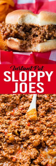 Instant Pot Sloppy J