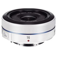 16mm F2.4 Ultra wide pancake lens - white (EX-W16ANW/US) | Camera Accessories
