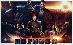 Mass Effect III 22x14 inch Plastic Poster Kunststoff Plakat - Wasserdicht - Anti-Fade - Kann auf den Außenbereich/Garten/Badezimmer - 6PP2EB5: Amazon.de: Küche & Haushalt