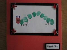 The Very Hungry Caterpillar Card