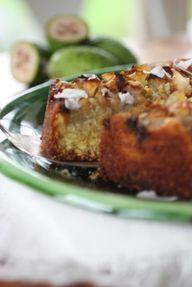 Fejoia coconut and ginger cake recipeNourish Magazine