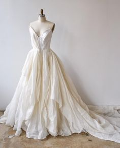 - our getting the custom treatment. shown here with the bodice shape! Country Wedding Dresses, Princess Wedding Dresses, Best Wedding Dresses, Boho Wedding Dress, Stunning Wedding Dresses, Beautiful Dresses, Wedding Gowns, Mermaid Dresses, Ball Dresses