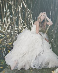 Billowing Ball Gown