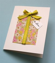 birthday card by mmmcrafts, via Flickr