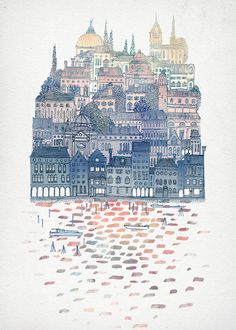 Print Collection III by David Fleck, via Behance