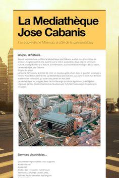 La Mediathèque Jose Cabanis Toulouse, The Visitors, Train Station, Hobbies, Reading