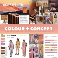 SS2020 Scout - peachy tones Fashion Themes, 2020 Fashion Trends, Mood And Tone, Design Theory, Fashion Forecasting, Mens Trends, Summer Prints, Colour Pallete, Vintage Colors